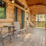 Rental Cabin 18 Deck