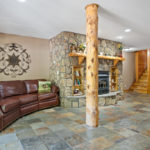 Rental Cabin 18 Downstairs
