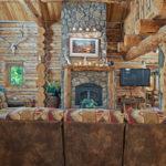 Rental Cabin 18 Main Level