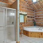 Rental Cabin 18 Master Bath