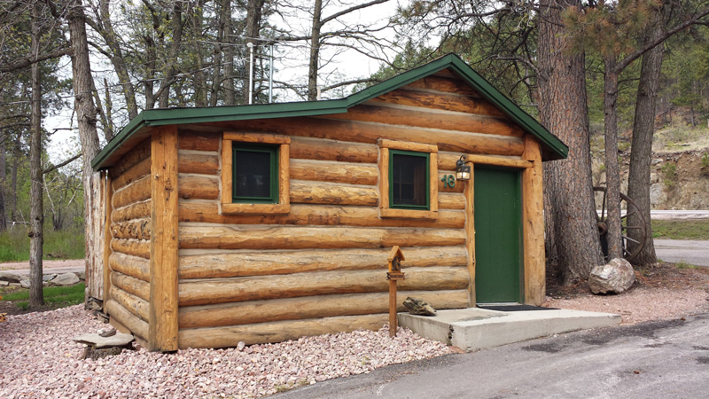 Cabin Rental by Mt Rushmore